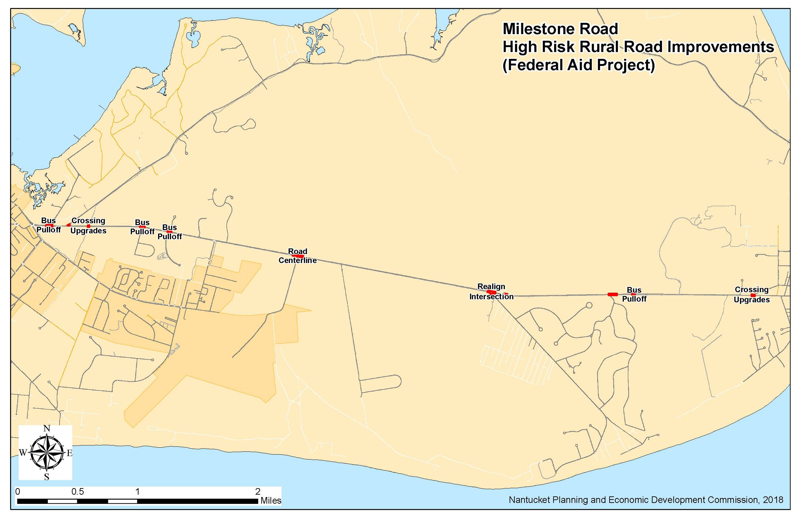 Milestone Rd HRRR Project map