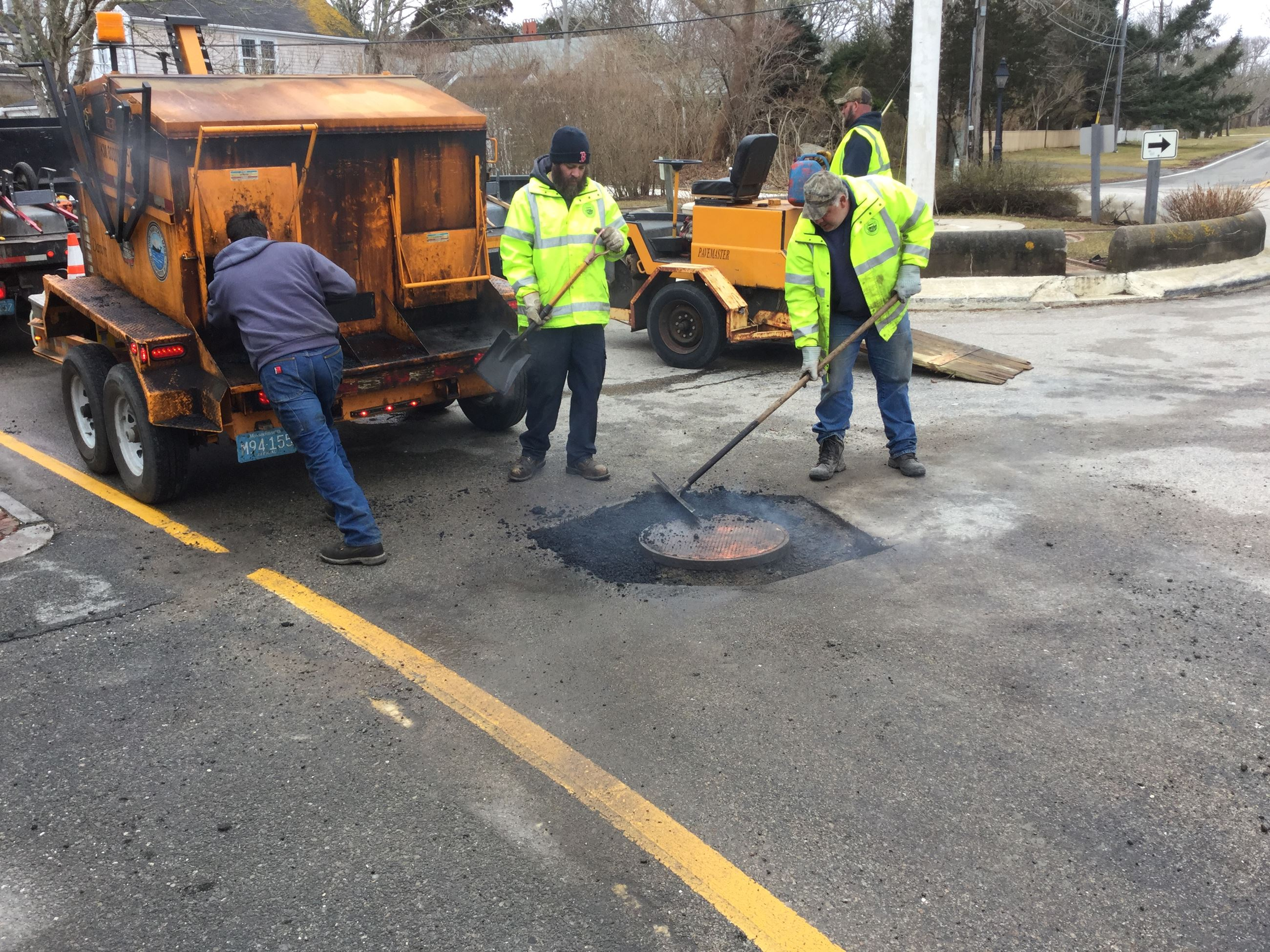 Nantucket Pothole fixing