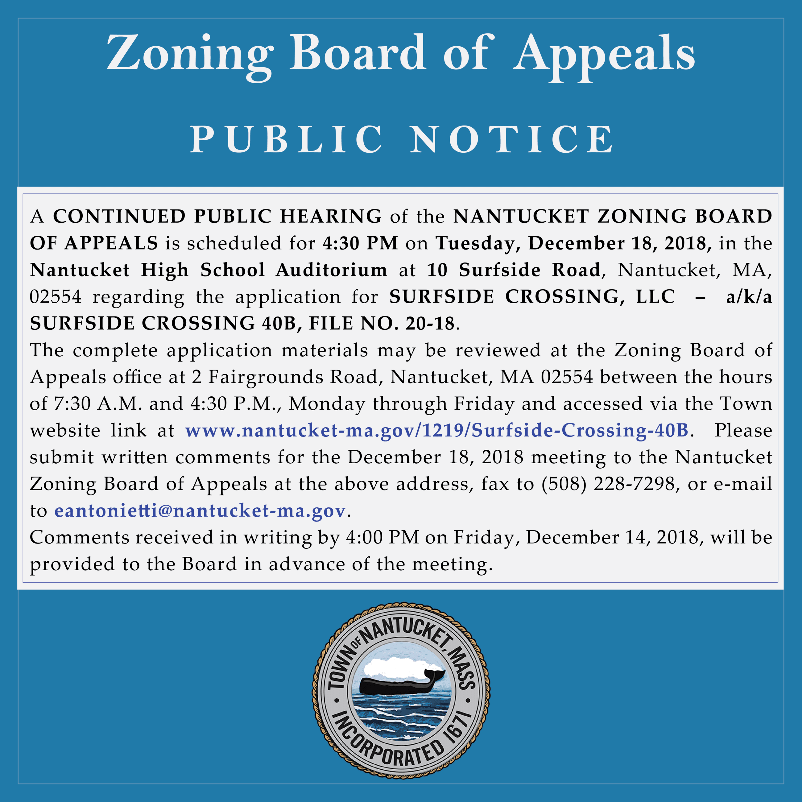 zba public hearing notice dec