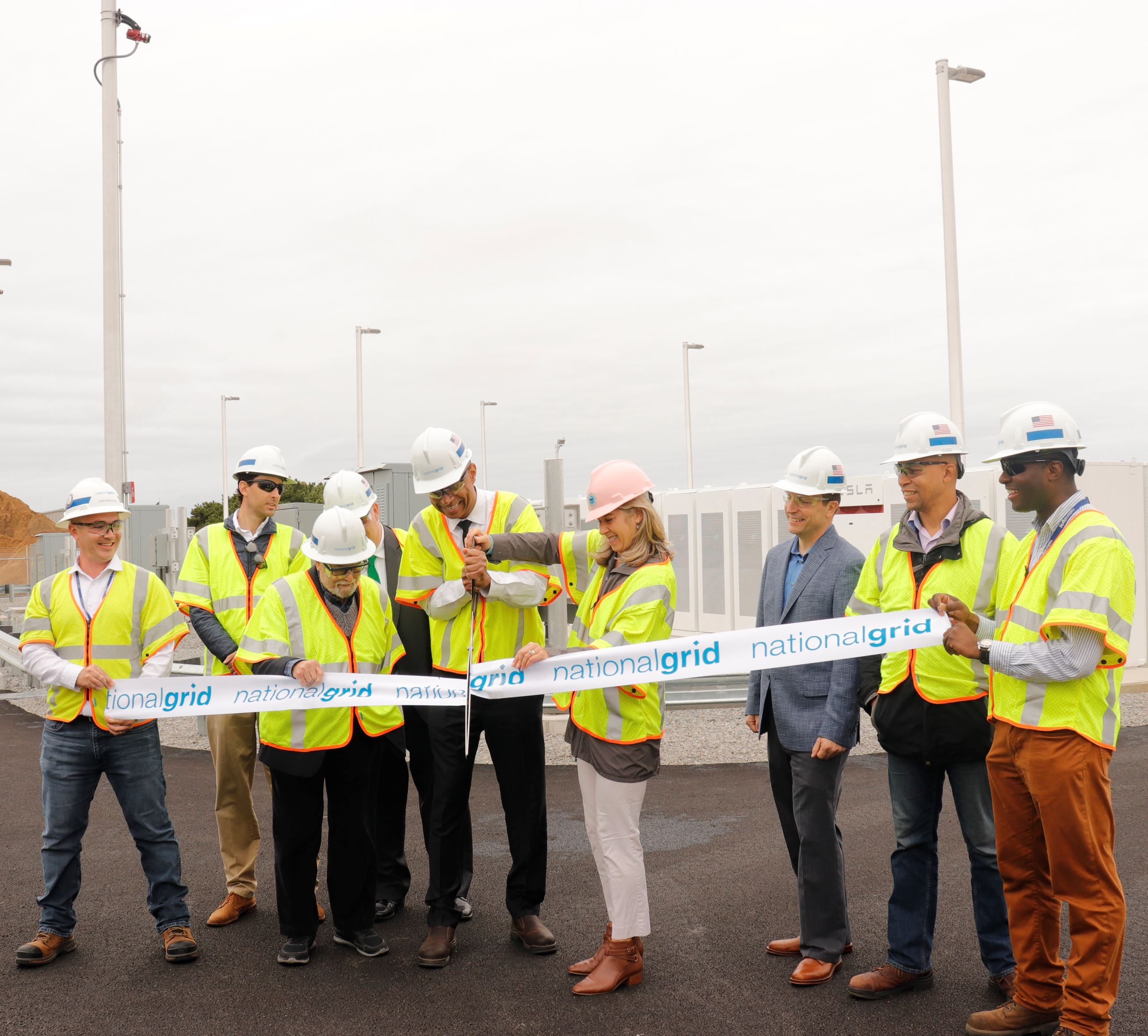 National Grid Ribbon Cutting