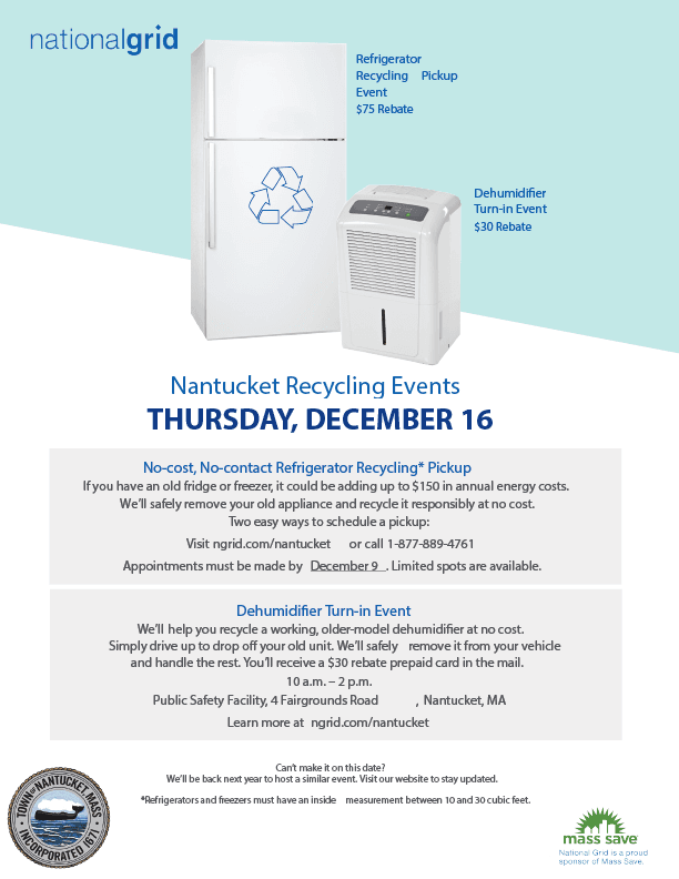 May 8 Recyclling Events