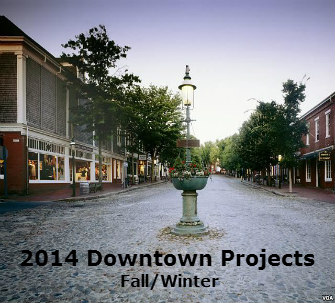 Downtown Construction Projects Fall Winter